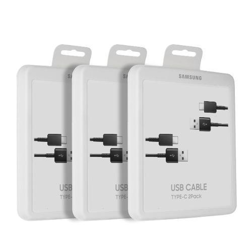 Samsung Cable Usb C Original 2pc S10 S9 S8 Note 9 8 No Chino