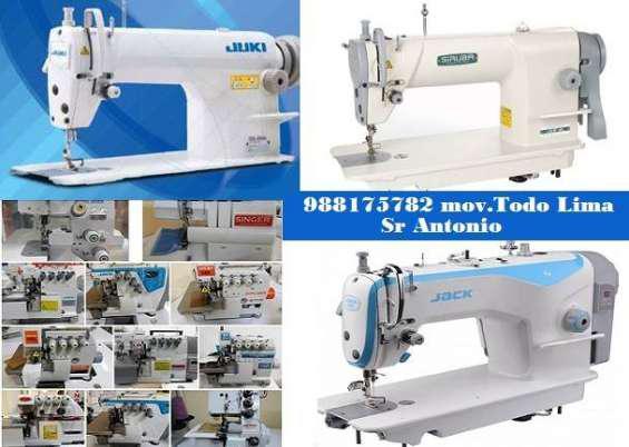 Servicio técnico para máquinas de coser en Lima