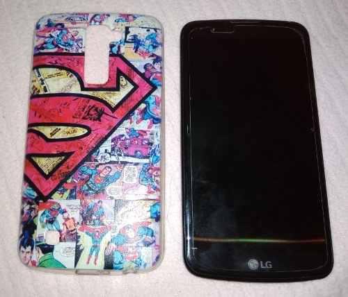 Celular Lg K10 + Case