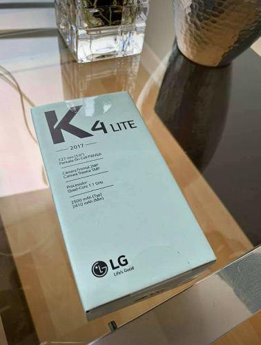 Celular Lg K4 Nuevo En Caja