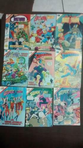 Comic Editorial Novaro, 9 Comic Batman, Superman