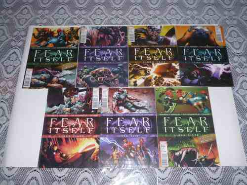 Comic Fear Itself (saga Completa) 7 Comic