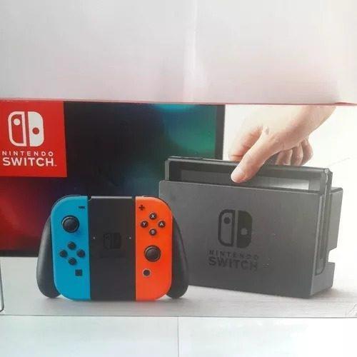 Consola Nintendo Switch Neon -negro Oficina San Borja Boleta