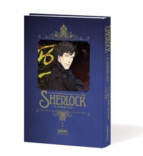 Manga Sherlock El Banquero Ciego - Norma Editorial