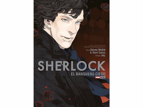 Manga Sherlock El Banquero Ciego Tomo 02 - Mexico