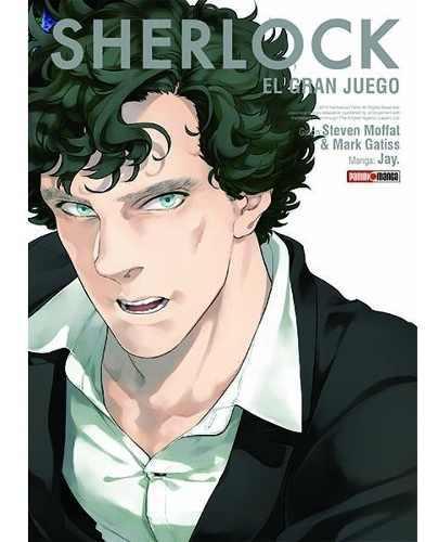 Manga Sherlock El Gran Juego Tomo 03 - Mexico