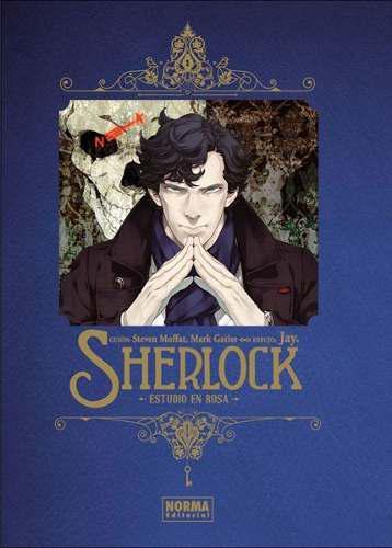 Manga Sherlock Estudio En Rosa - Norma Editorial