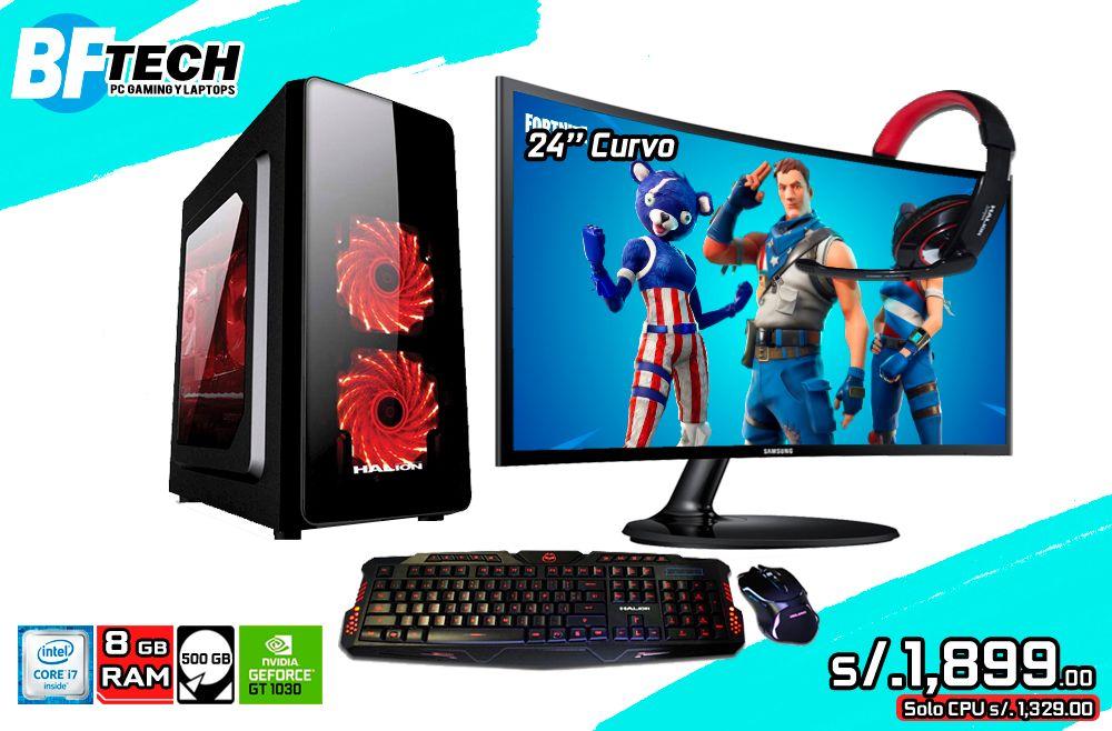 PC GAMER Intel Core iGHz 24 curvo