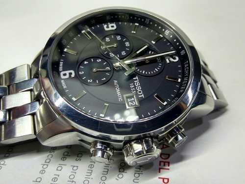 Reloj Tissot Prc 200 Automático, Acero, Chrono