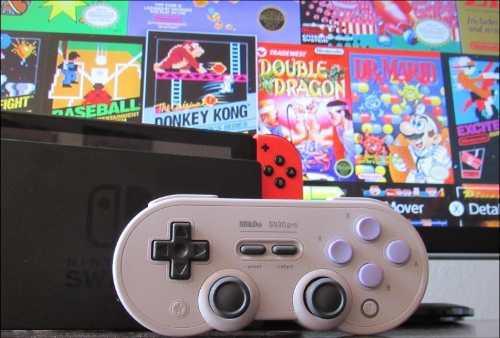 8bitdo Mando Sn30 Pro - Para Nintendo Switch, Android, Win