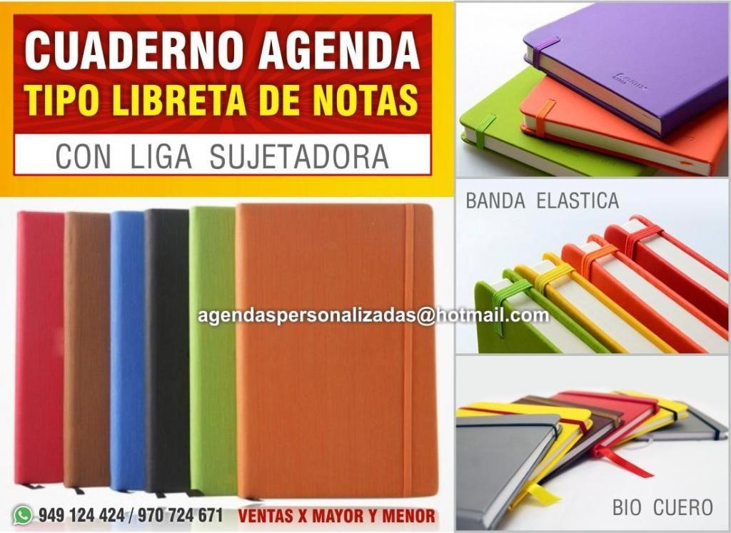 Cuaderno Agenda  Tipo Libreta de Notas