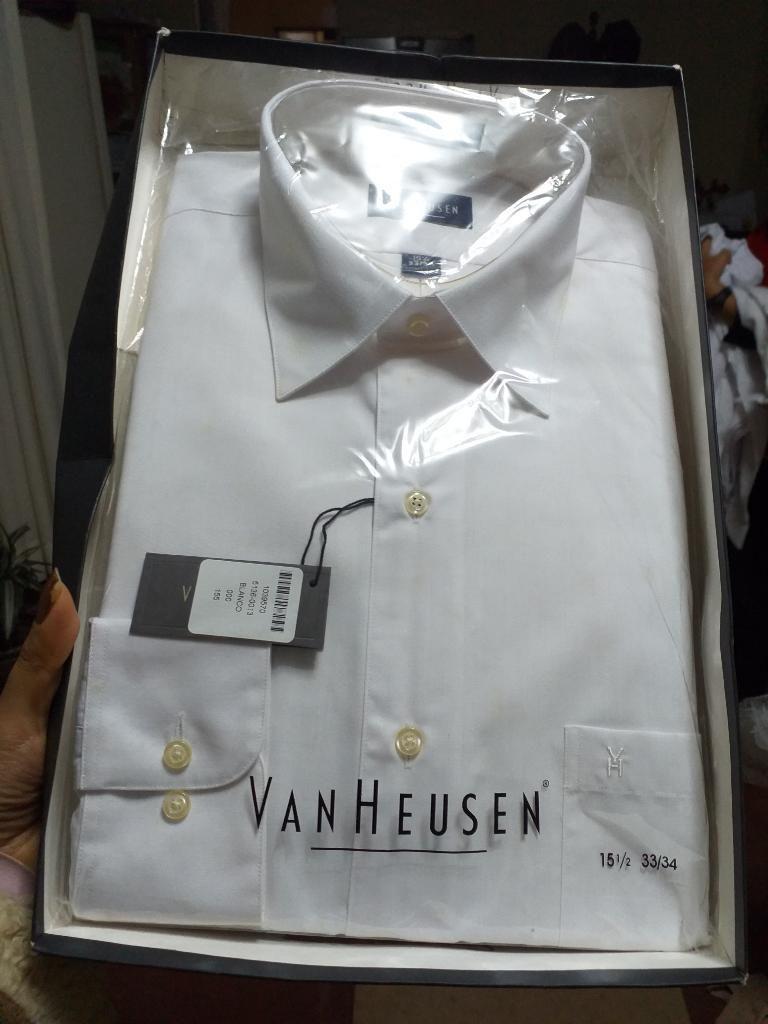 Camisa para Hombre Color Blanco