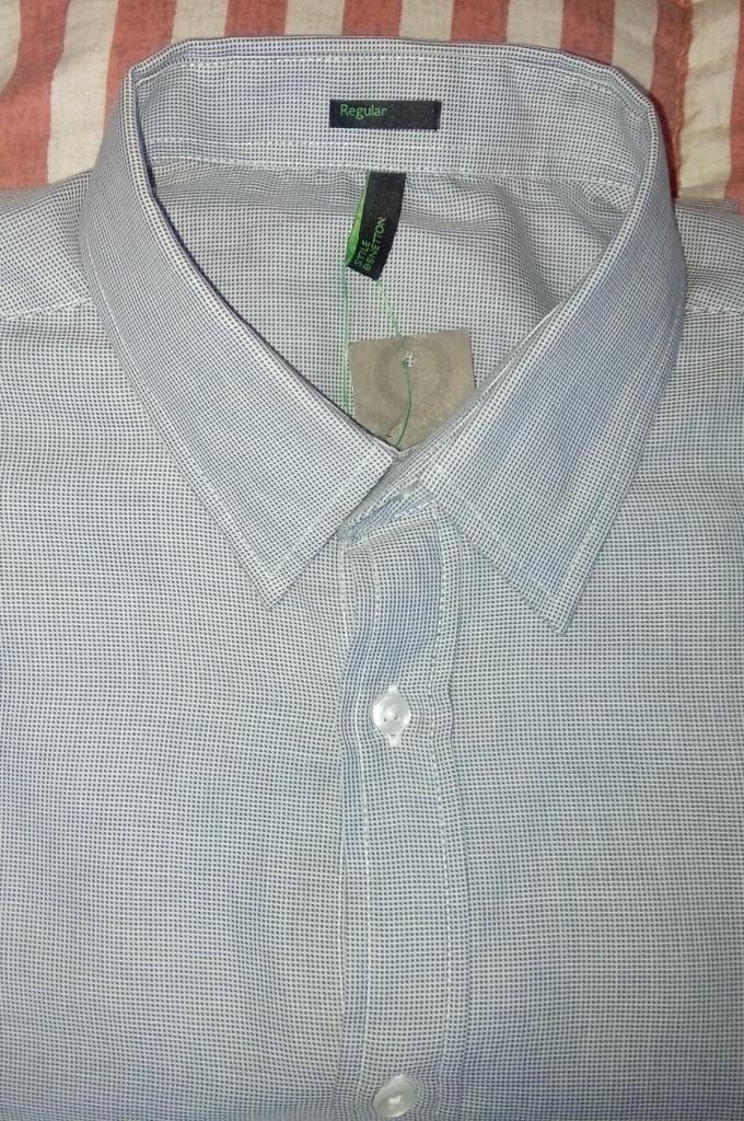 Camisas Benetton, Tommy hilfiger y Arrow nuevas originales