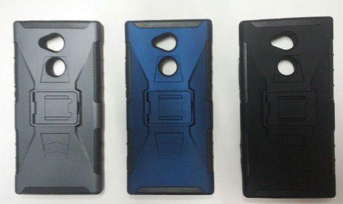 Case Protector Con Parante Para Sony Xperia Xa2 Ultra
