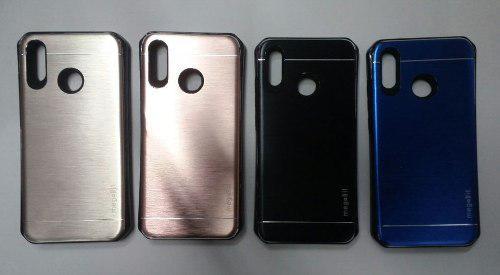 Case Protector De Aluminio Para Huawei P20 Lite Colores