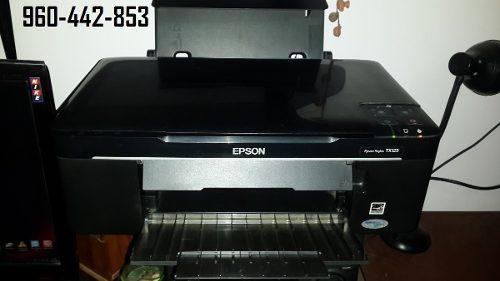 Impresora Epson Scanner Multifuncional Tx 125