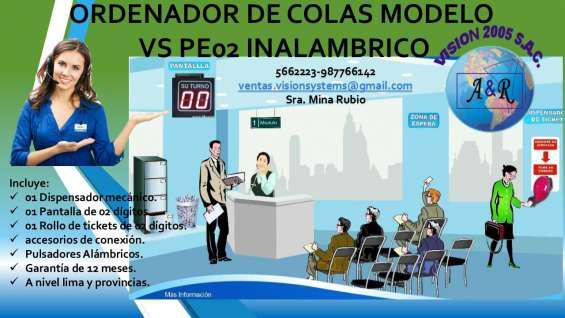 Kit ordenadores de colas vs en Arequipa