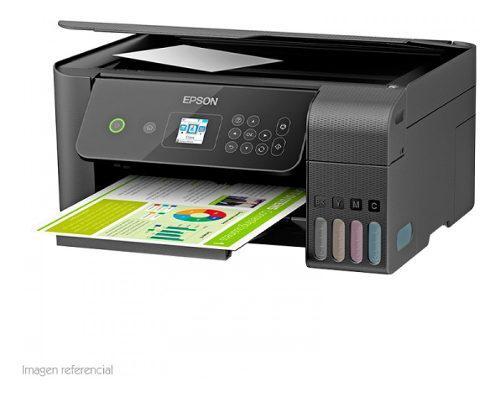 Multifuncional De Tinta Epson Ecotank L3160, Imprime/escanea