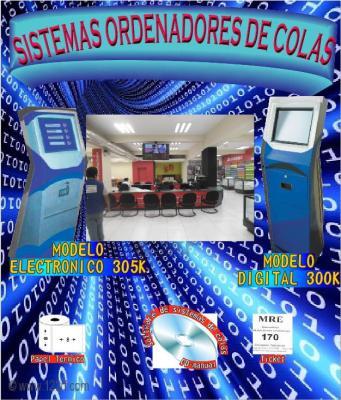 Sistemas de colas con totem vs en Lima