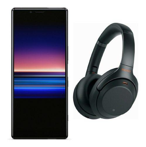Sony Xperia 1 6gb Ram 128gb 4k Oled + Wh-1000xm3 Audifonos
