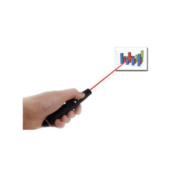 Pasa diapositivas presentador puntero laser inalámbrico usb
