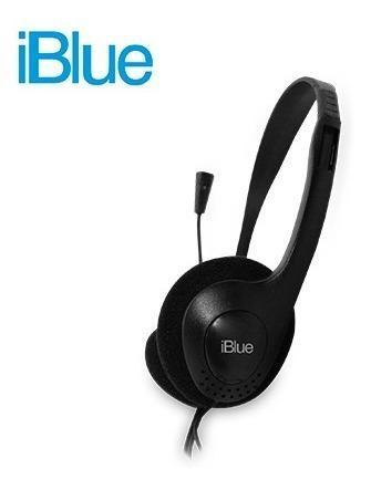 Audifono C/microf. Iblue Black (pn Hs-2001bk)