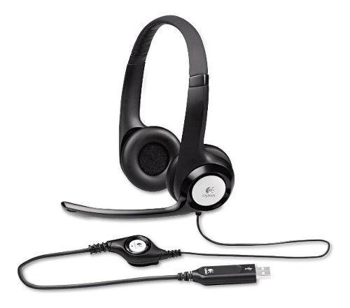 Audifono C/microf. Logitech H390 Usb Noise Cancelling