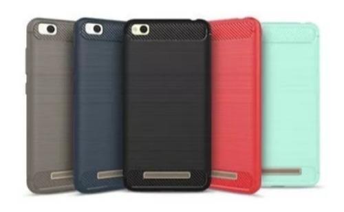 Case, Funda Protector Fibra De Carbono Xiaomi Redmi 4a