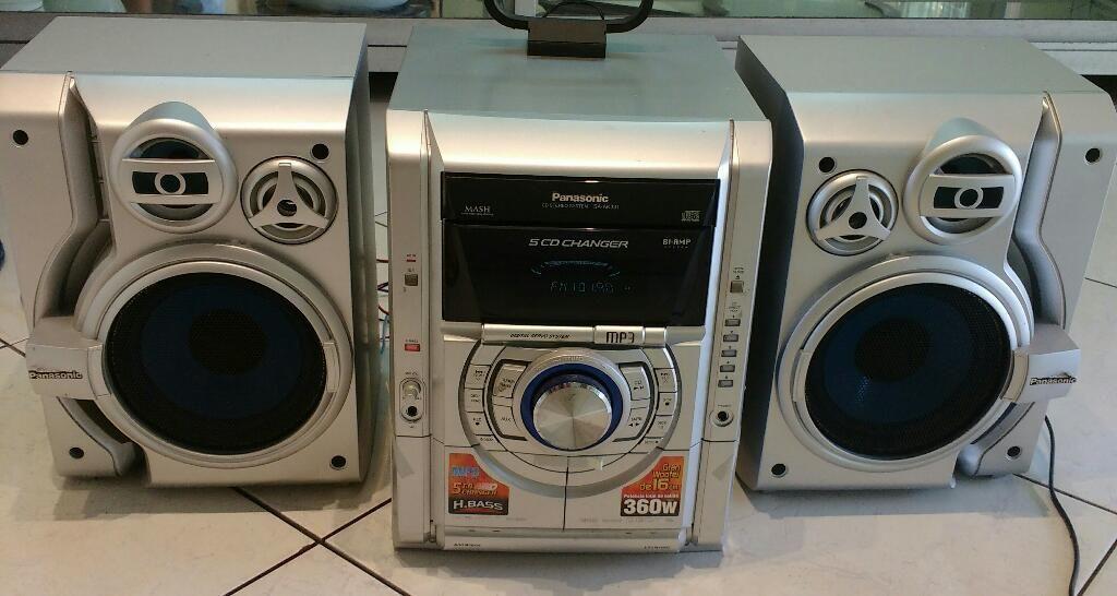 Cd Stereo Panasonic Modelo Sa Ak331