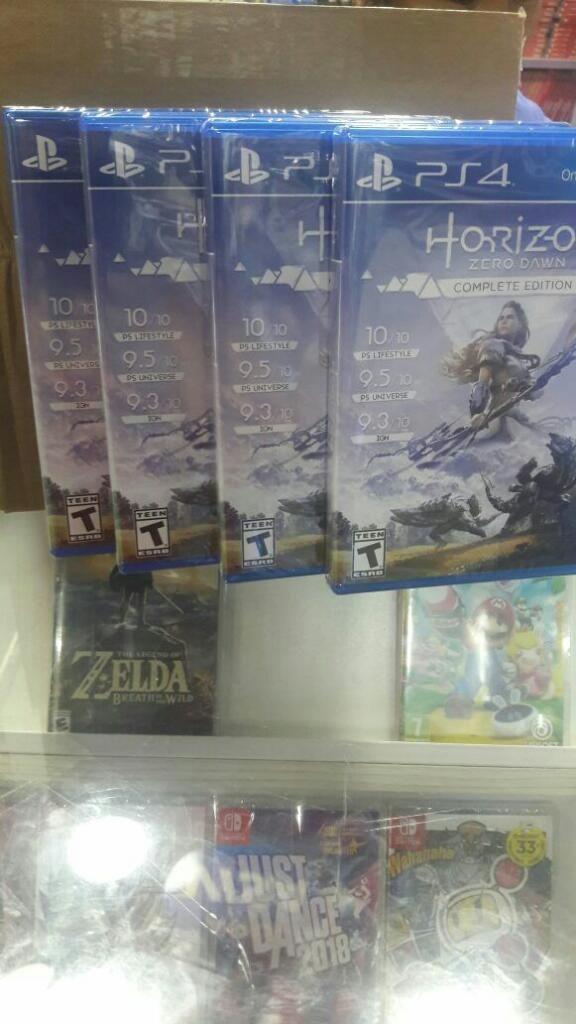 Horizon Zero Dawn Edicion Completa Ps4 Nuevo Sellado Stock