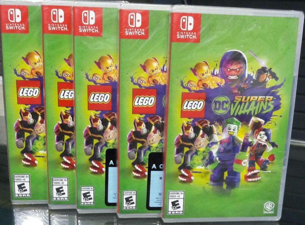 Lego Dc Super Villains Nintendo Switch Nuevo Sellado Stock