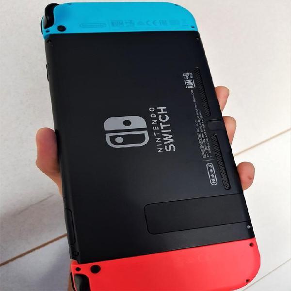 Nintendo Switch 10/10, color neón. No 3ds Psp Psvita Vita