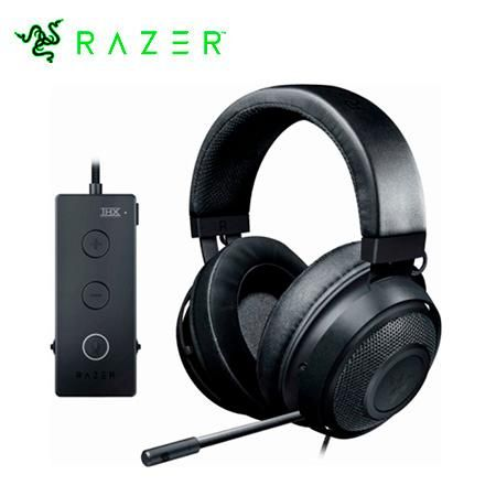 RAZER AUDIFONO C/MICROF. TOURNAMENT USB BLACK / GREEN