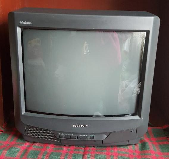 Televisor TV Sony Trinitron Color 14 pulgadas