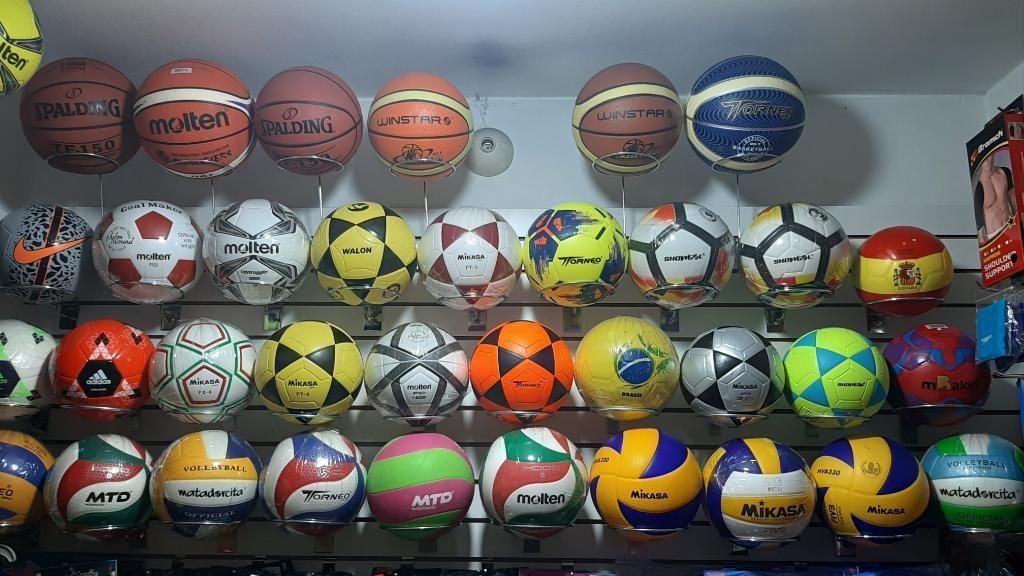 Balones de Futbol.voley.y Basketball