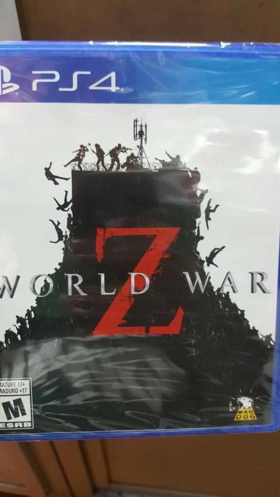 Ps4 World War Z (el Nuevo Left 4 Dead)