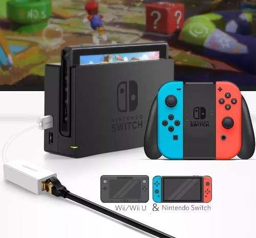 Adaptador Red Ugreen 3.0 Nintendo Switch, Pc, Wii U, Tv Box
