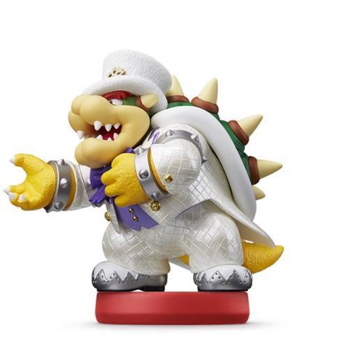 Amiibo Kupa Wedding Style Bowser Super Mario Odyssey