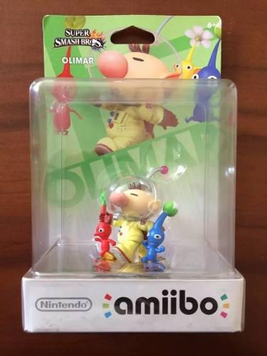 Amiibo Olimar Pikmin Super Smash Bros. (edición Americana)