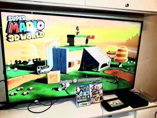 Consola Nintendo Wii U Deluxe Set Color Negro, 32 Gb