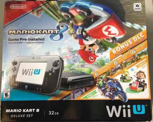 Nintendo Wii U 32gb Edición Mario Kart 8