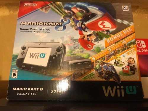 Nintendo Wii-u Mario Kart 8 Estado 9 De 10