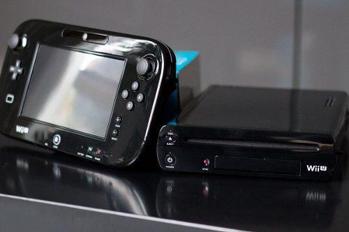Nintendo Wiiu Completa 32gb Con Juegos Listosy Usb De 32gb