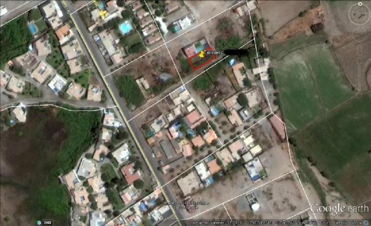 Vendo Exclusivo Terreno en Urb. Las Palmeras Mejia a Cinco