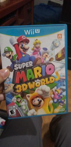 Vendo Juego Super Mario 3d World Para Wii U