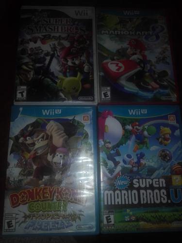 Vendo Juegos De Wii U