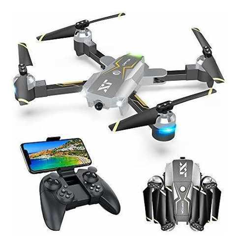 Wifi Fpv Drone With Camera Live Video 720p Hd, Rc Drones Fo