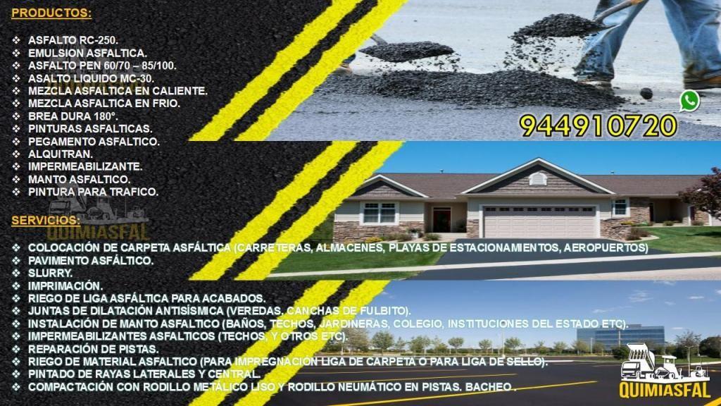 asfalto en frio emulsion asfaltica con polimeros brea