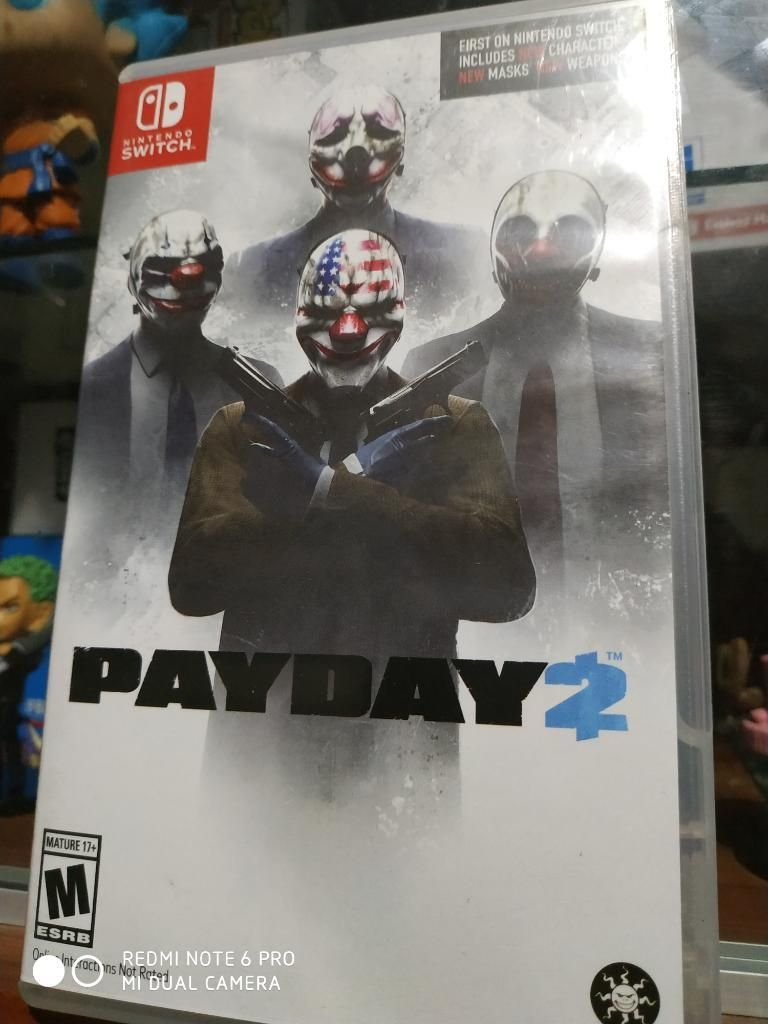 Juego Nintendo Switch Payday 2 a 85 Sole