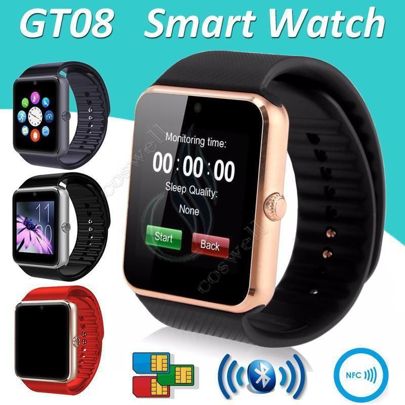 Reloj SmartWatch GT08, con funciones de teléfono y cámara